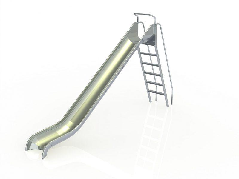 IJslander speeltoestel glijbaan H: 2m