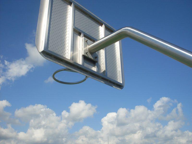 IJslander Basketbalpaal wedstrijdmodel