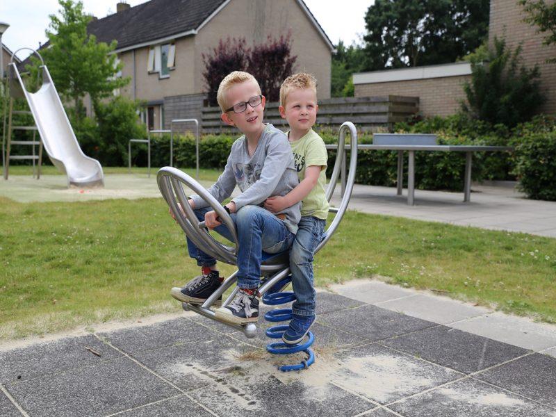 IJslander speeltoestel Hobbelmotor