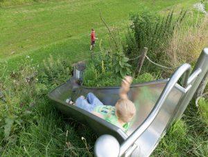 Speeltoestel IJslander Taludglijbaan