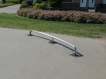 Railslide Double Curved 3×0.1×0.3 m