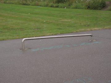 Railslide schuin oplopend 3×0.09×0.15/0.3 m