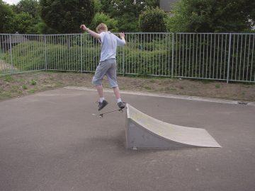 Jump Ramp 1.8×1.25×0.6 m