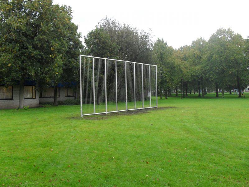 Backstop 10×4 m