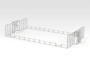 Citybox 24x13x4/1 m