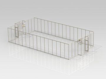 Citybox – 20 x 10,5 x 4m