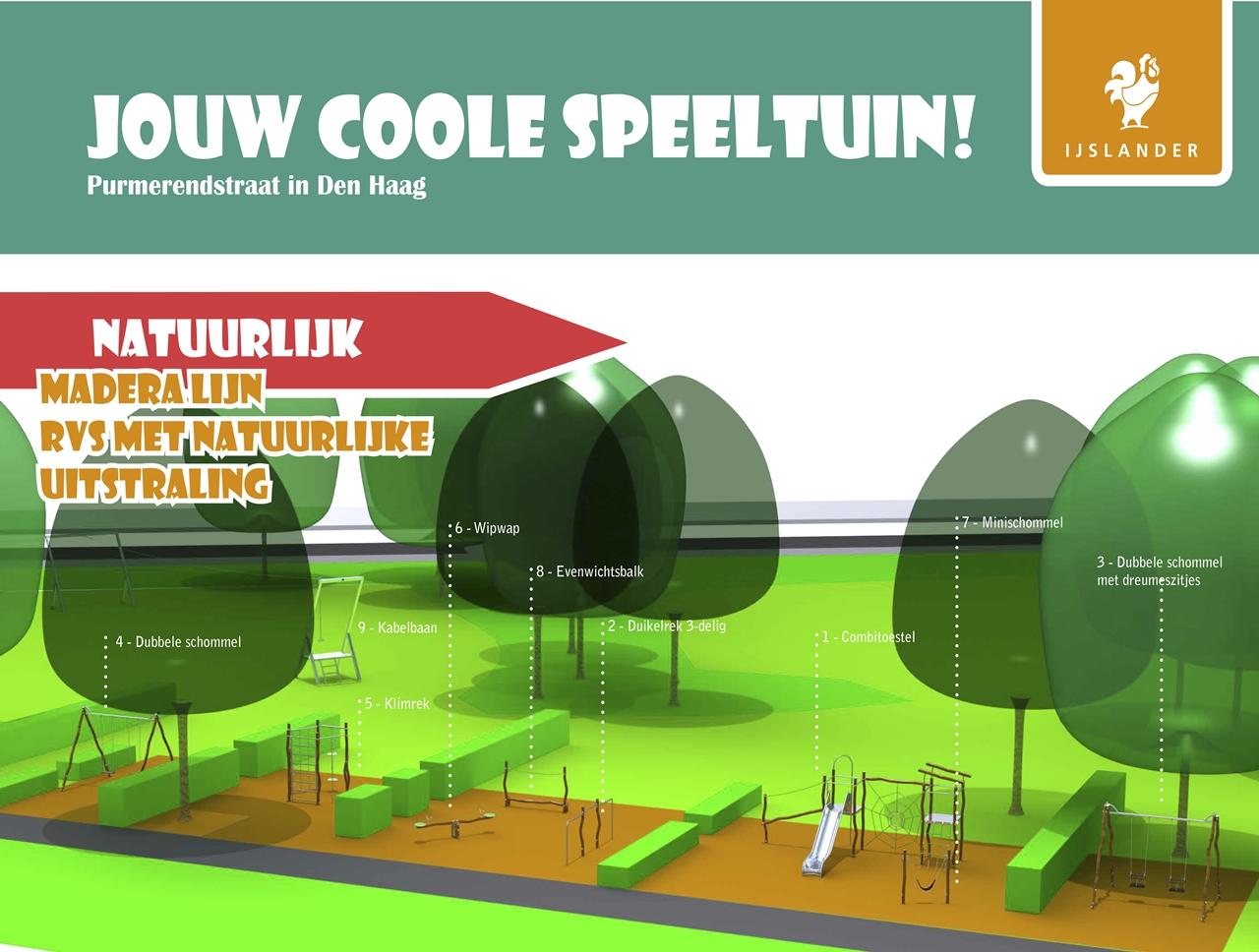 ontwerp Purmerendstraat Den Haag Madera