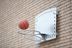 IJslander Basketbal Bord muur