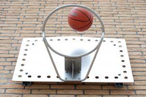 IJslander Basketbalbord muur