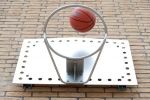 rvs Basketbalbord buiten