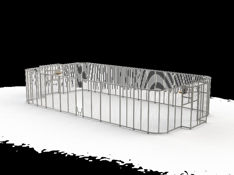 4001-247Citybox met gebogen hoeken 20x10x4m