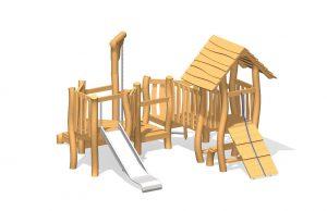 Kaboutervilla-hout