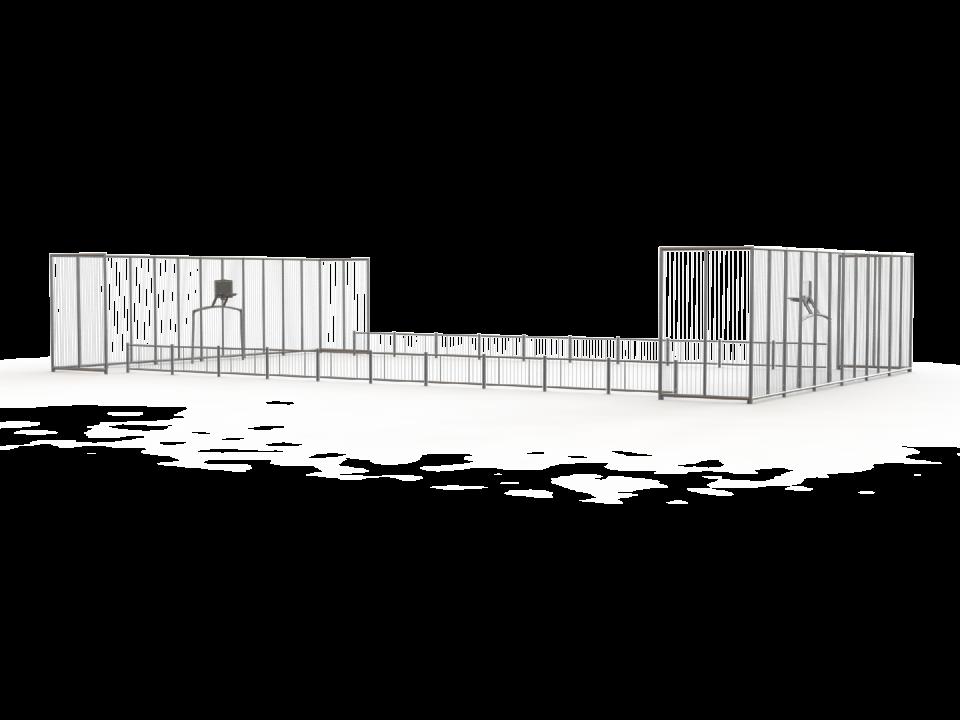 Citybox 25x15x4/1 m