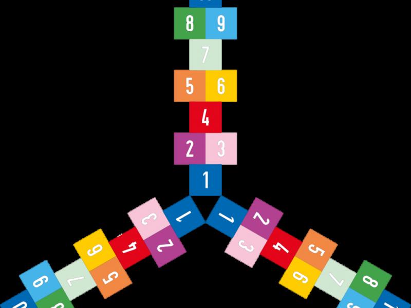 2205 Pleinplakker Hinkelbaan triple